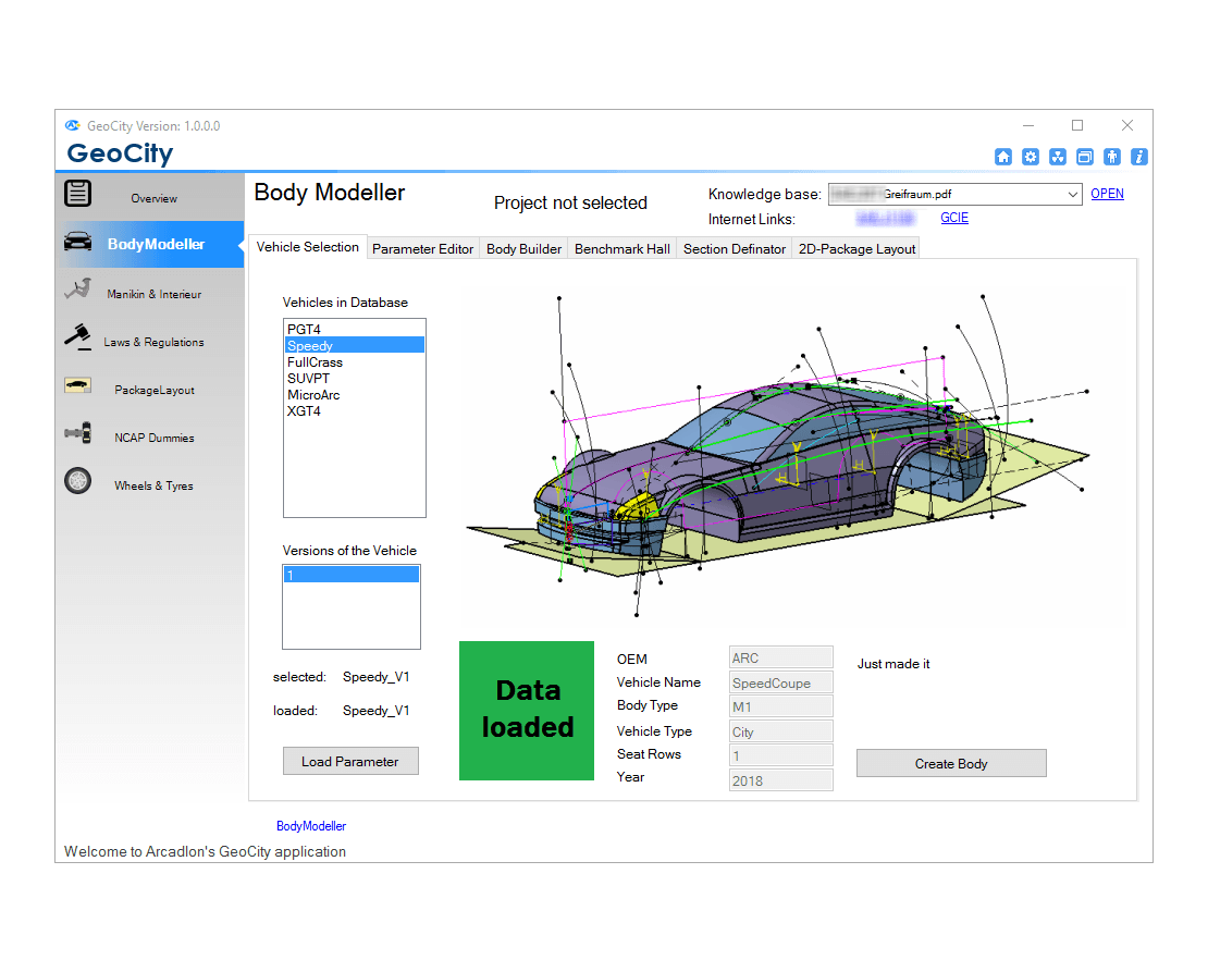 GeoCity - BodyModeler